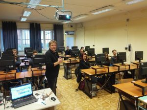 Móricz Zsigmond High School's students have tried the App Inventor on Code Week